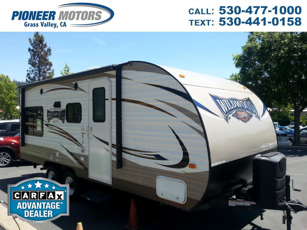 2017 Forest River Wildwood T191RDXL