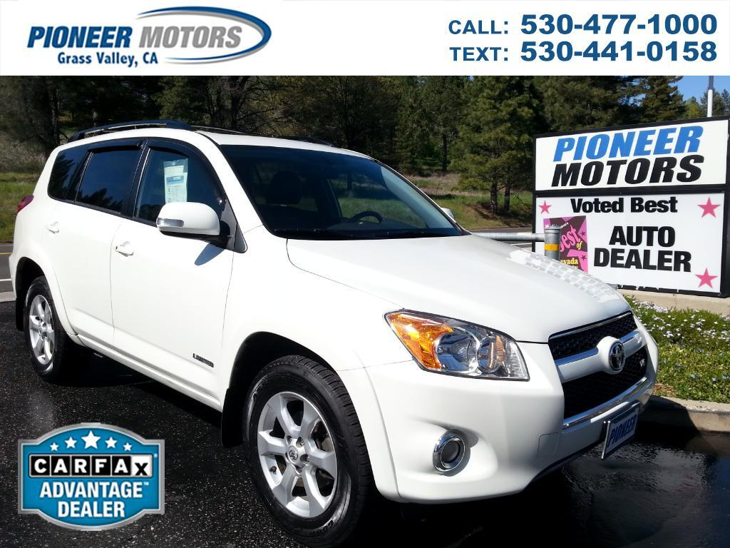 2009 Toyota RAV4 Limited V6 4WD with 3rd Row