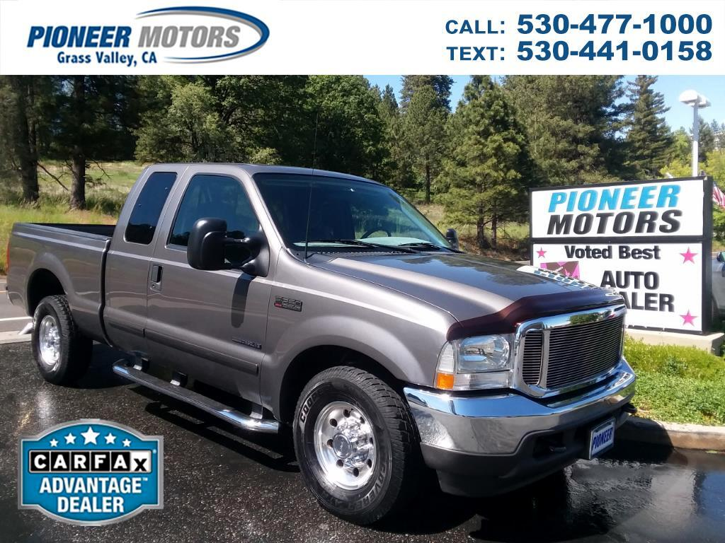 2002 Ford F-250 SD XLT SuperCab 2WD