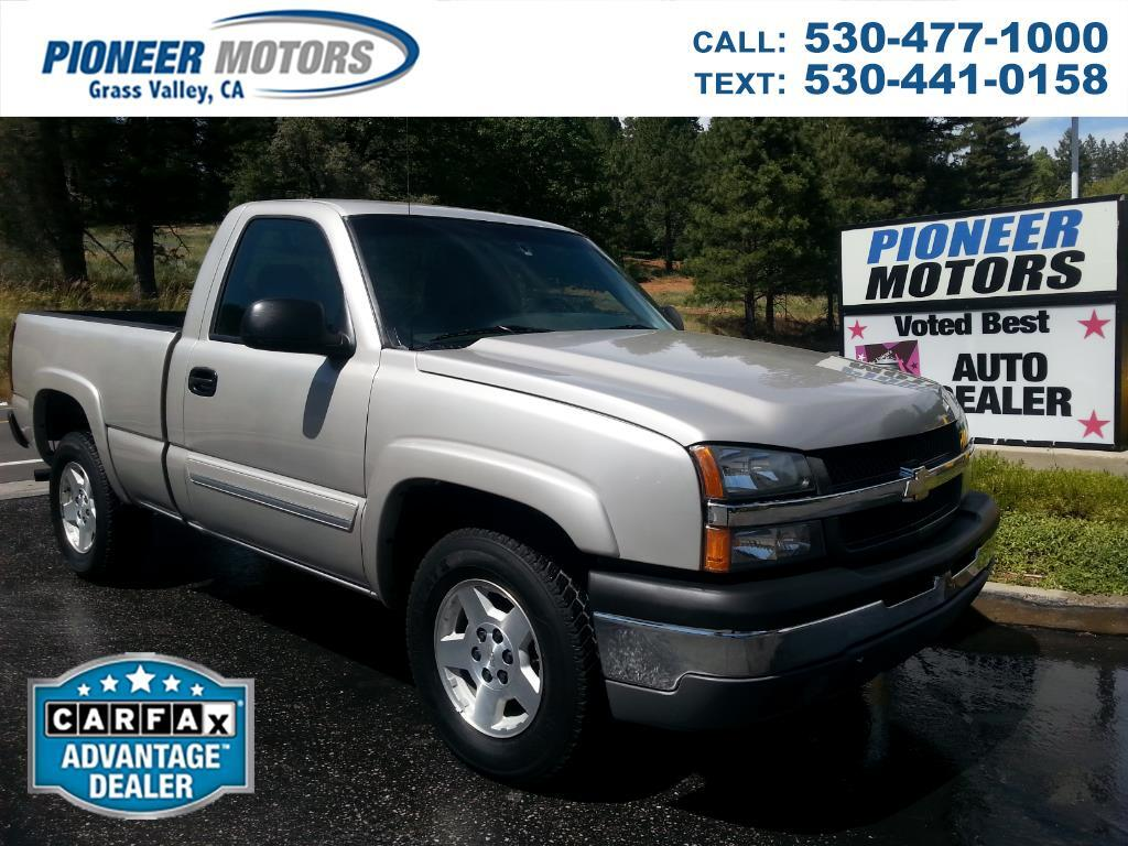 2005 Chevrolet Silverado 1500 Z71 Short Bed 4WD