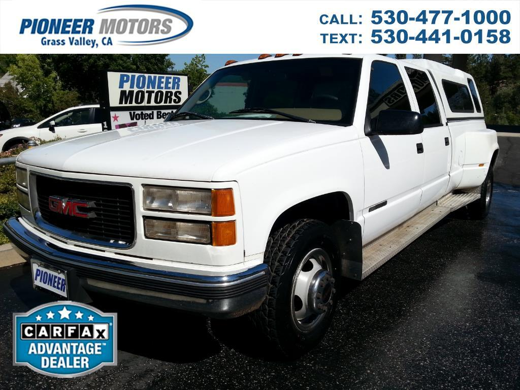 1995 GMC Sierra 3500 SLE Crew Cab 2WD 8ft Bed