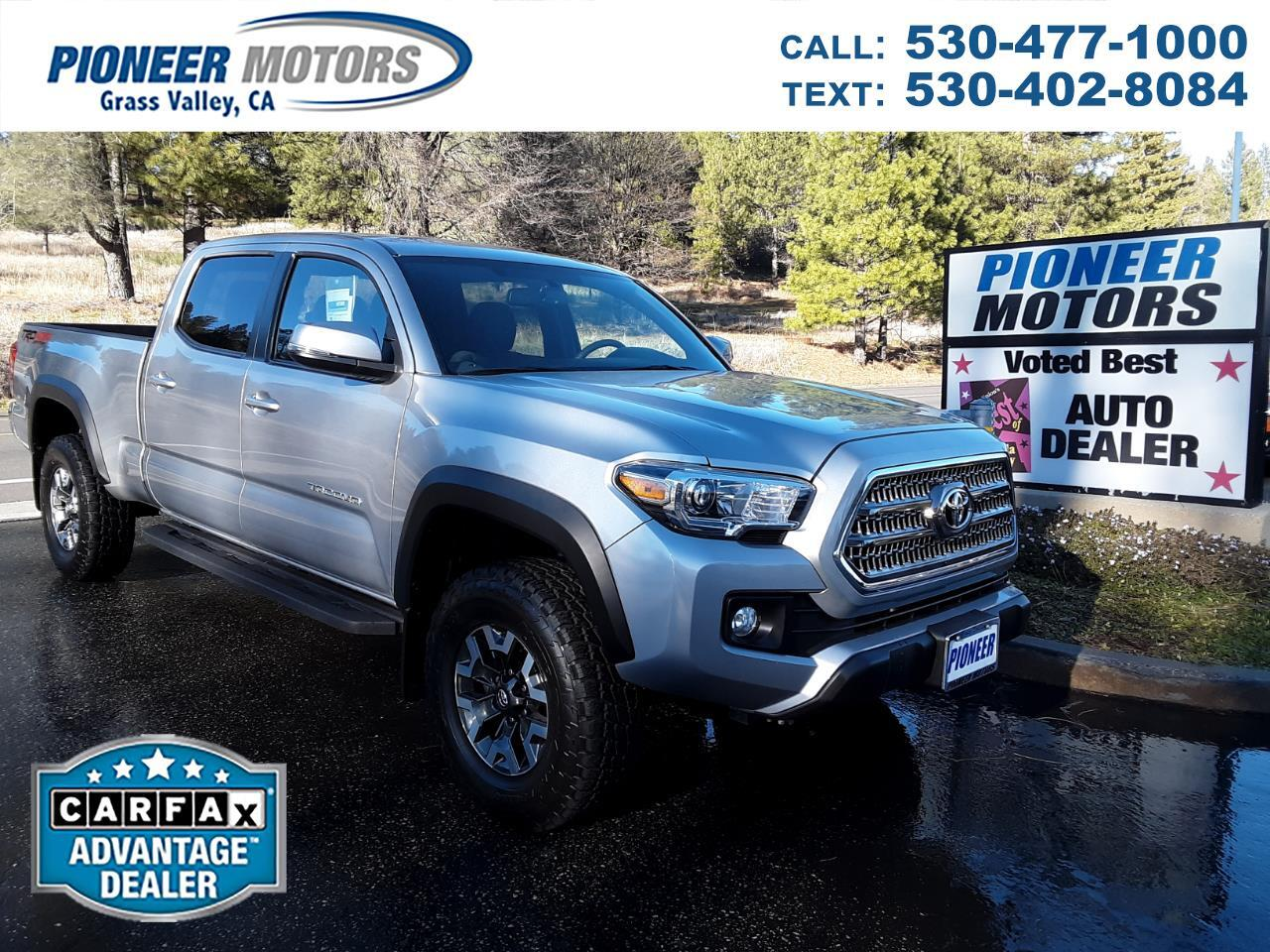 2017 Toyota Tacoma 4WD Double Cab V6 AT TRD Off Road (Natl)