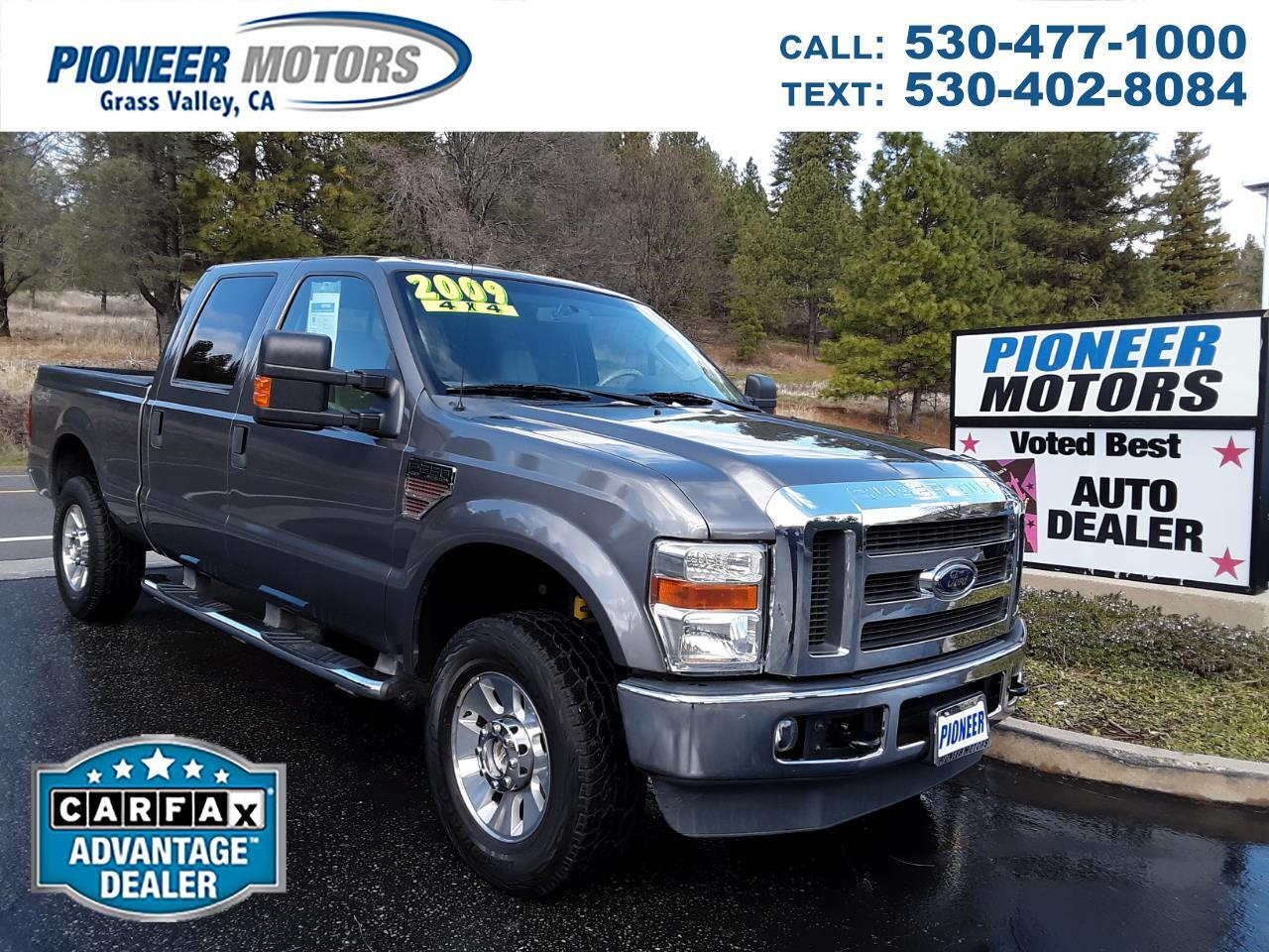 2009 Ford F-250 SD Lariat Super Duty Crew Cab 4WD