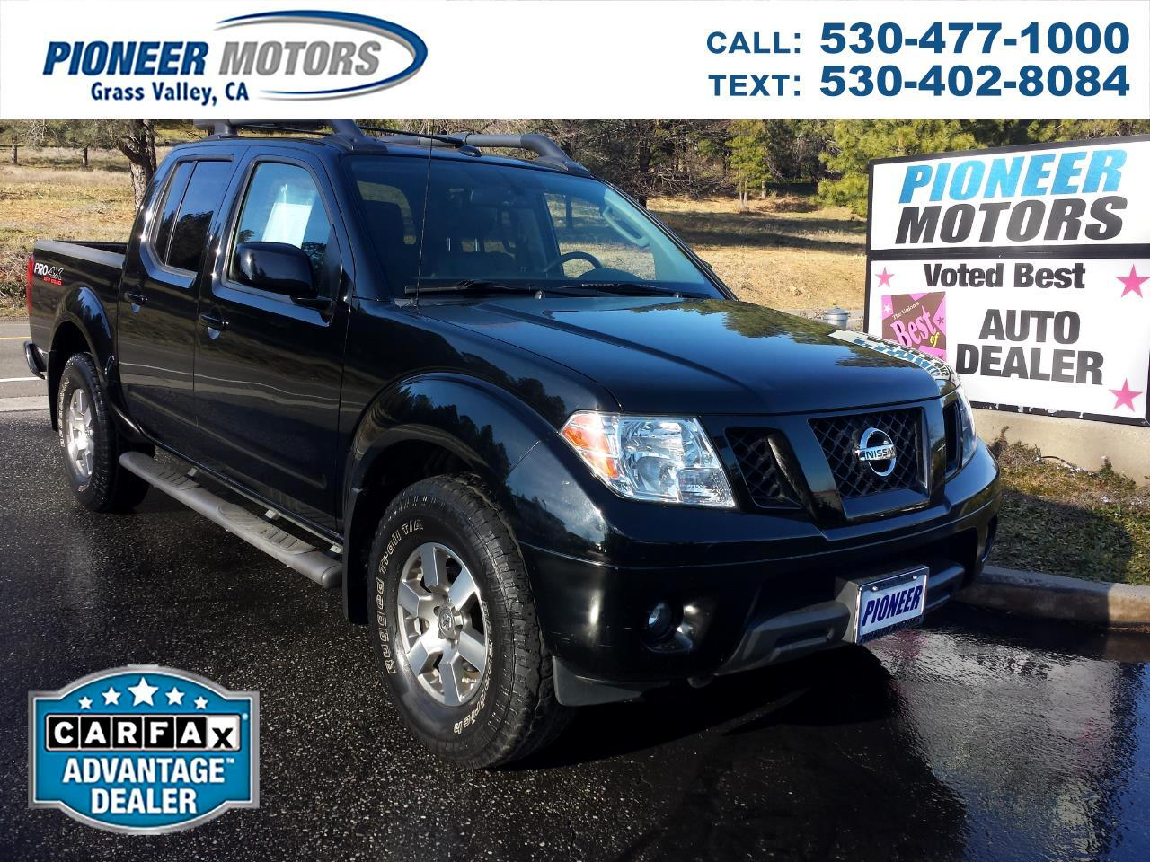 Nissan Frontier PRO-4X Crew Cab 4WD 2011
