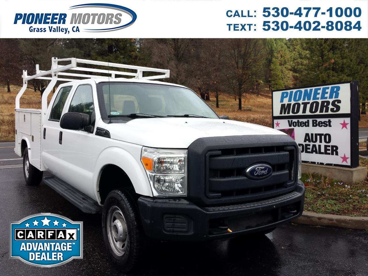 Ford F-250 SD XL Crew Cab 4WD 2012