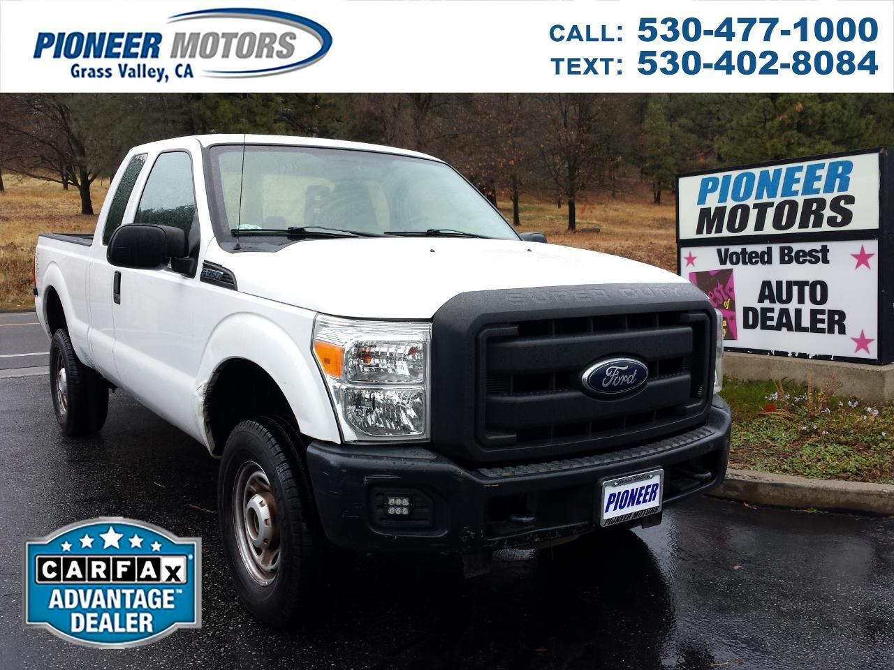 Ford F-350 SD XL SuperCab 4WD 2012