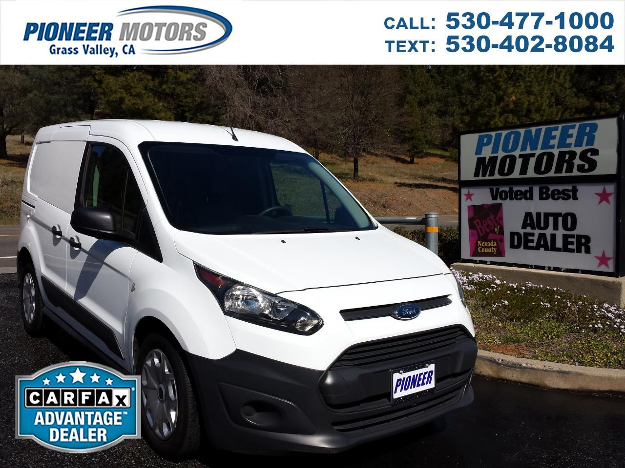 Ford Transit Connect Cargo Van XL SWB w/Rear Liftgate 2017