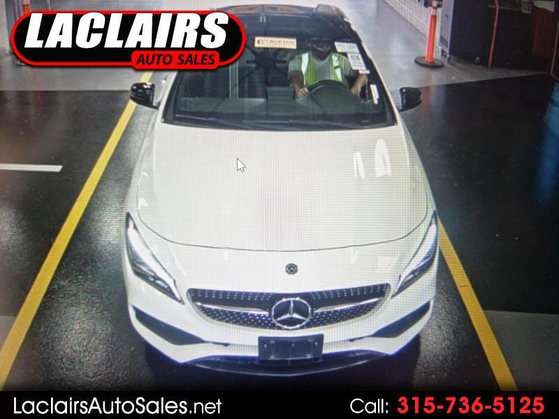 Mercedes-Benz CLA-Class CLA250 4MATIC 2018