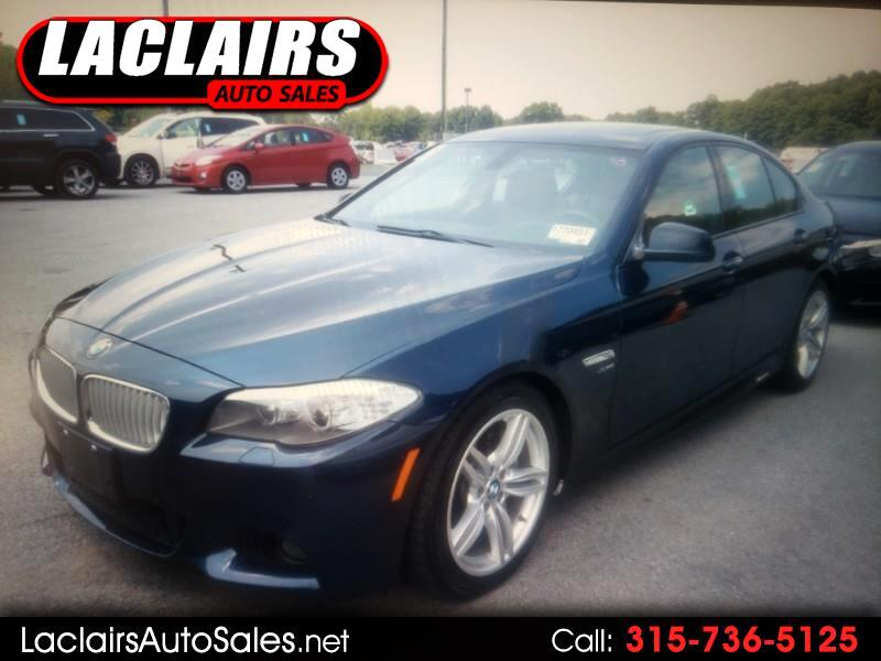 BMW 5-Series 550xi 2011
