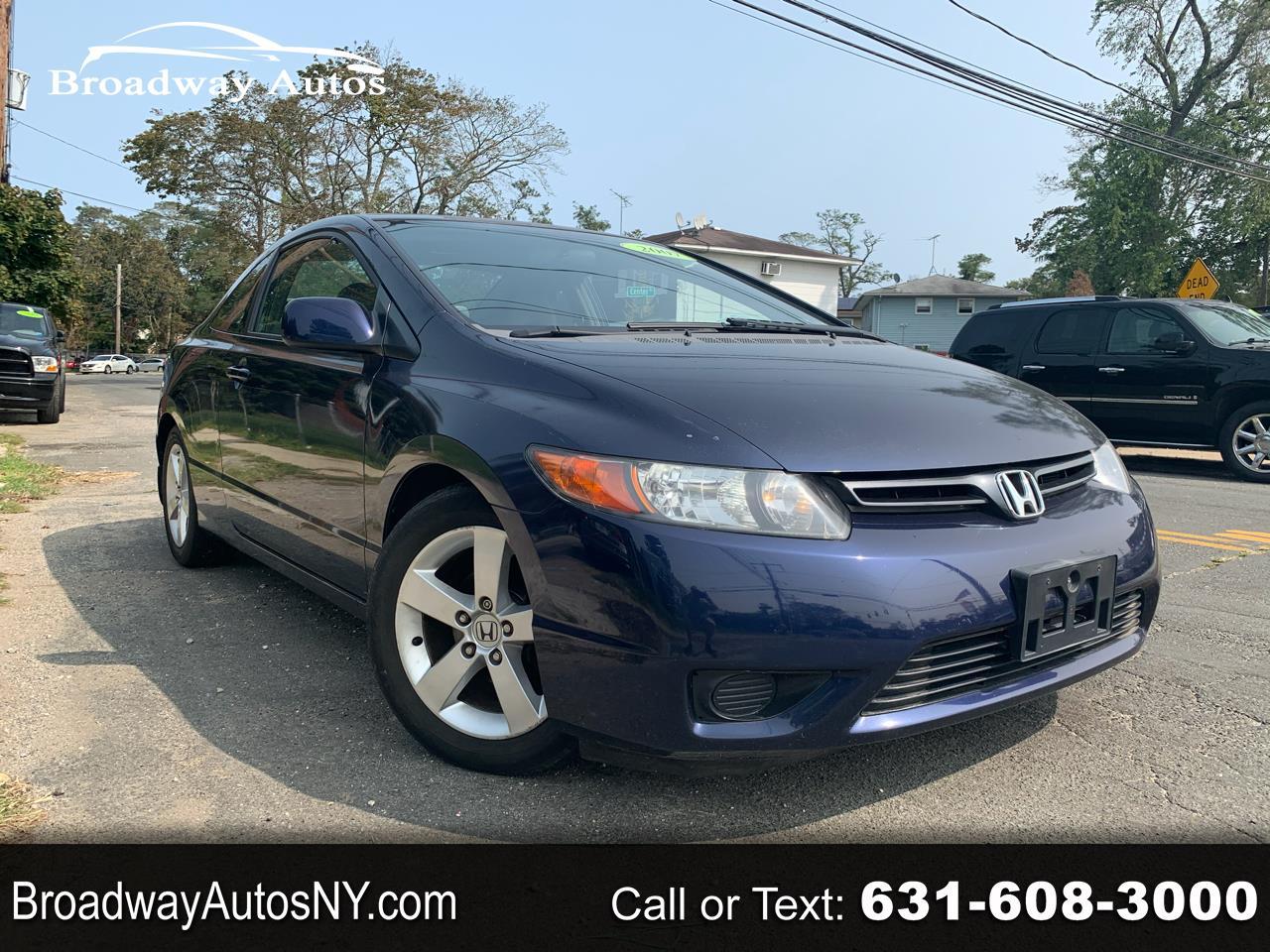 Honda Civic Cpe 2dr AT EX 2007