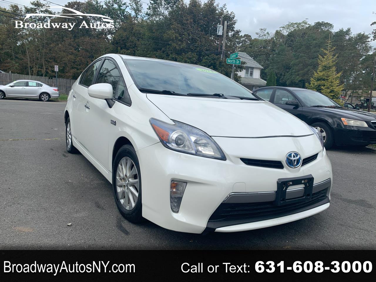 Toyota Prius Plug-In 5dr HB (Natl) 2014