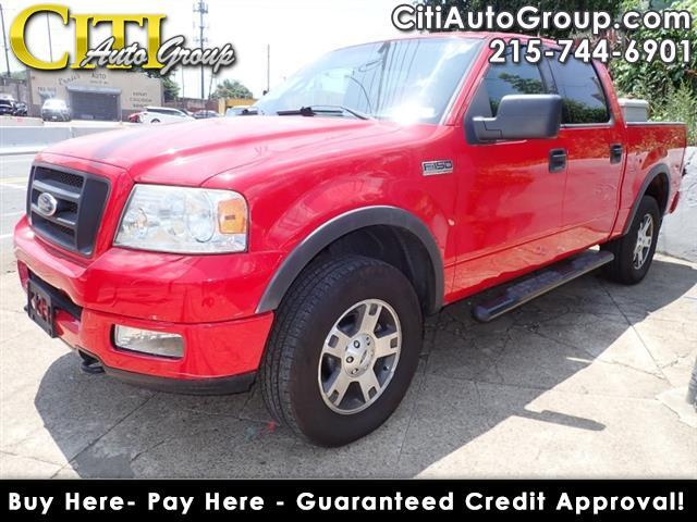 2004 Ford F-150 4dr SuperCrew XLT 4WD Styleside 5.5 ft. SB