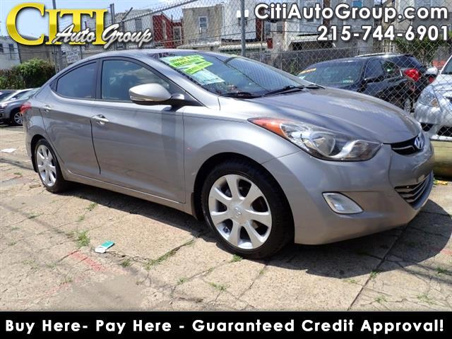 2012 Hyundai Elantra Limited 4dr Sedan