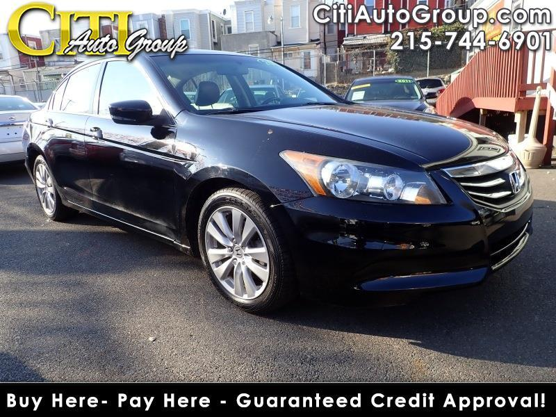 2012 Honda Accord EX-L 4dr Sedan w/Navi