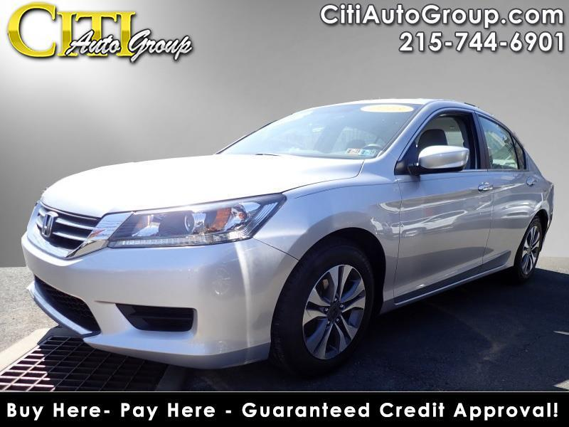 2013 Honda Accord LX 4dr Sedan CVT