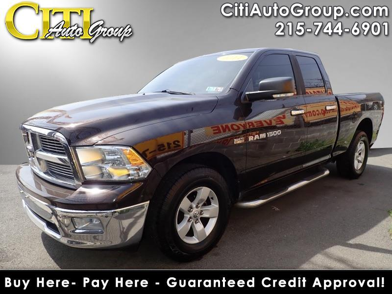 2011 RAM 1500 4x4 SLT 4dr Quad Cab 6.3 ft. SB Pickup