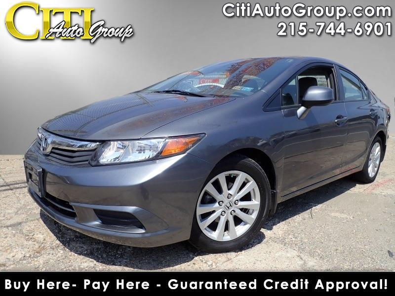 2012 Honda Civic EX-L 4dr Sedan w/Navi