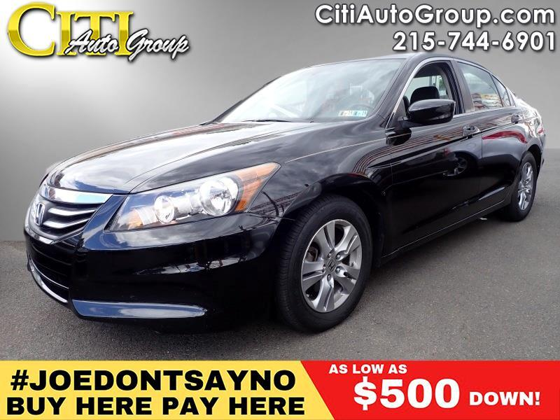 2012 Honda Accord SE 4dr Sedan