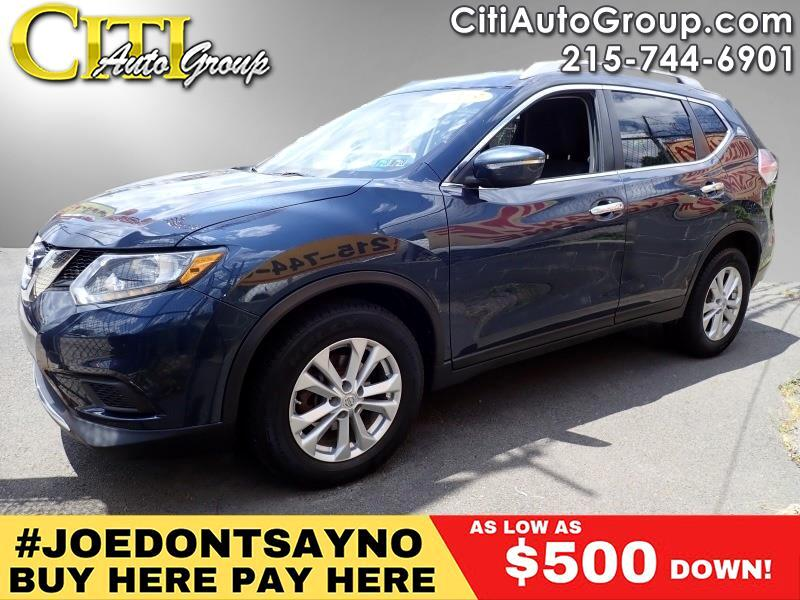 2015 Nissan Rogue AWD S 4dr Crossover