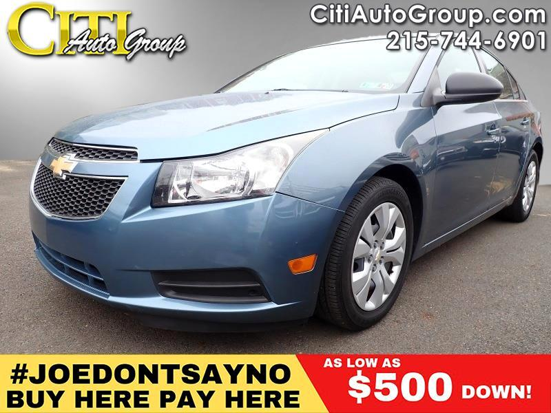 2012 Chevrolet Cruze LS 4dr Sedan