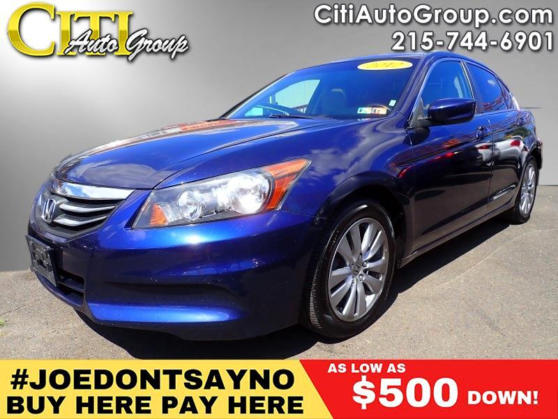 2012 Honda Accord EX-L 4dr Sedan