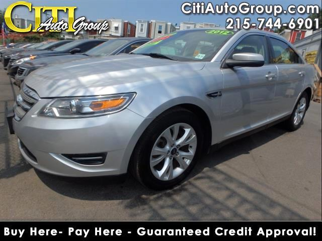 2012 Ford Taurus SEL 4dr Sedan