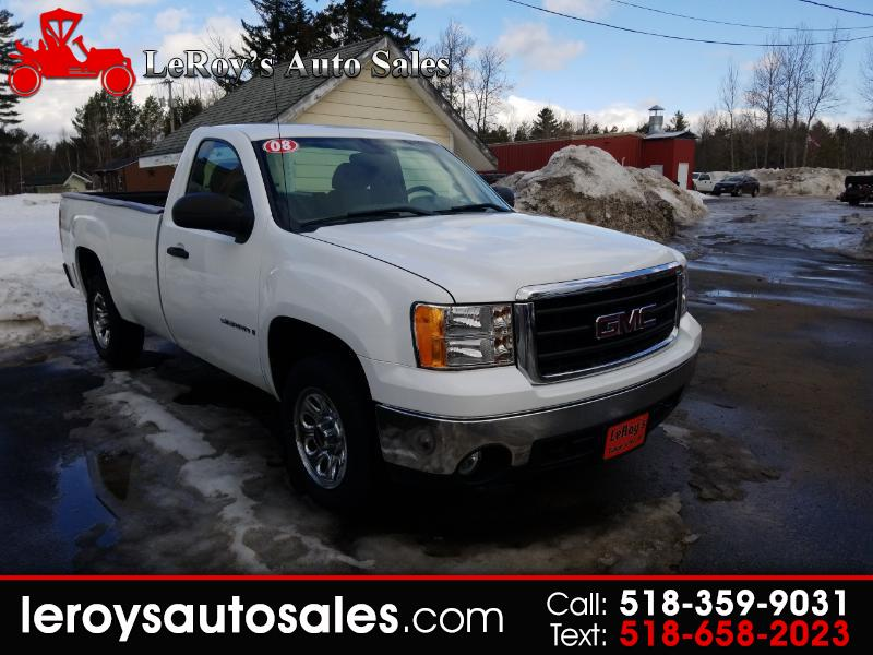 2008 GMC Sierra 1500 Work Truck Long Box 2WD