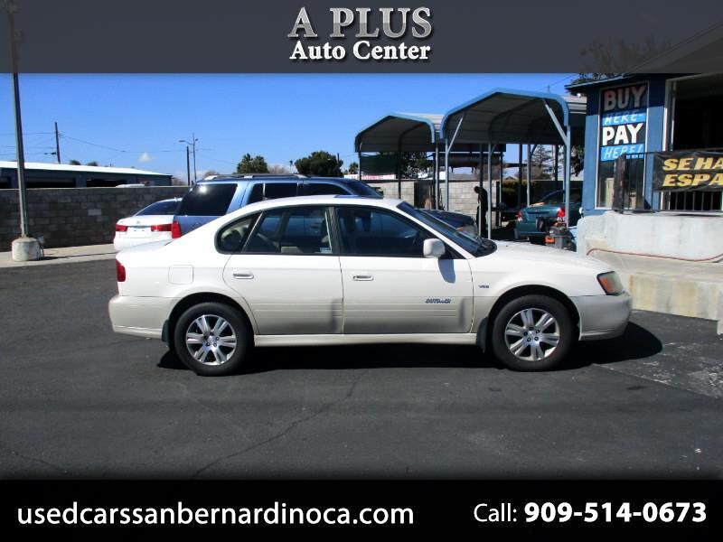 2004 Subaru Outback H6-3.0 VDC Sedan