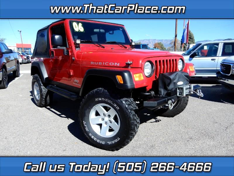 2006 Jeep Wrangler Unlimited Rubicon 4WD
