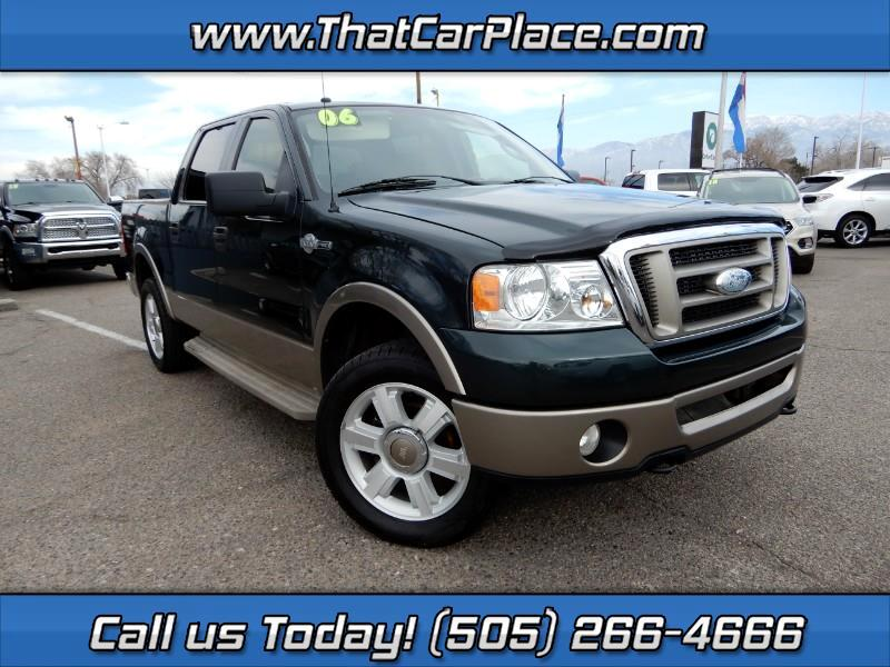 """2006 Ford F-150 4WD SuperCrew 139"""" King Ranch"""