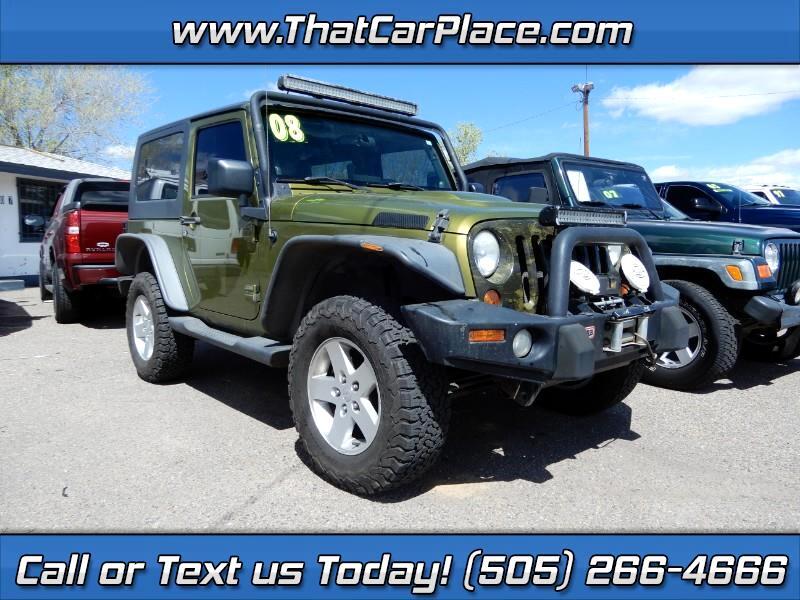 2008 Jeep Wrangler Sahara