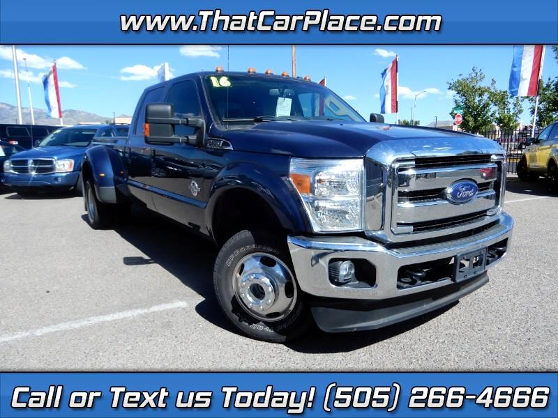 2016 Ford F-350 SD FX4 Crew Cab Long Bed DRW 4WD