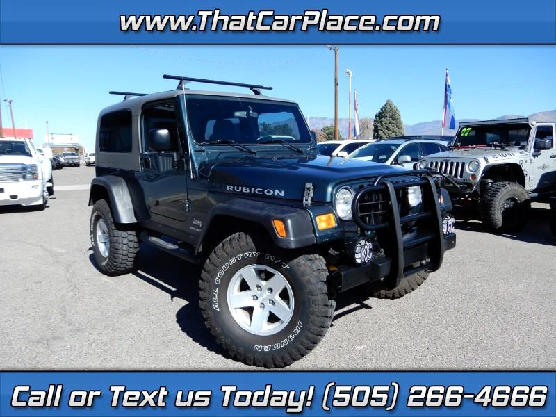 2005 Jeep Wrangler 2dr Unlimited Rubicon LWB