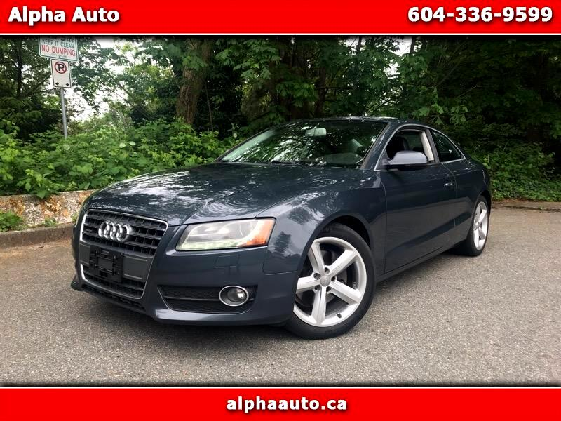 2011 Audi A5 Coupe 2.0T Quattro Trptronic, AWD, SUper Clean