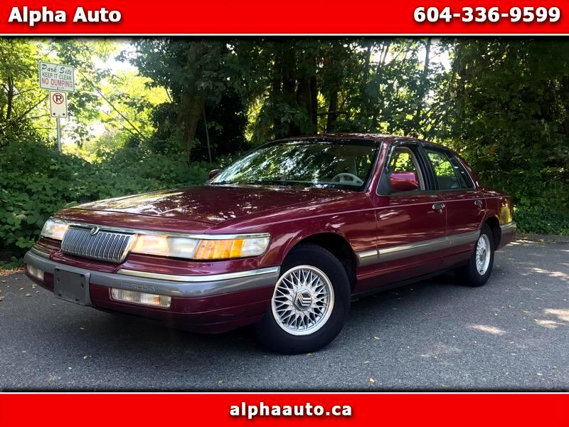 1992 Mercury Grand Marquis 4dr Sdn LS Premium