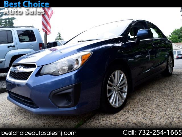 2012 Subaru Impreza Premium Plus 4-Door+S/R