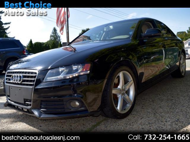 2012 Audi A4 4dr Sdn Auto quattro 2.0T Premium
