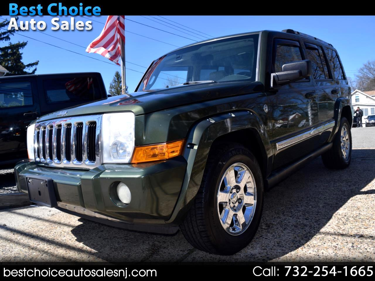 2007 Jeep Commander 4WD 4dr Limited
