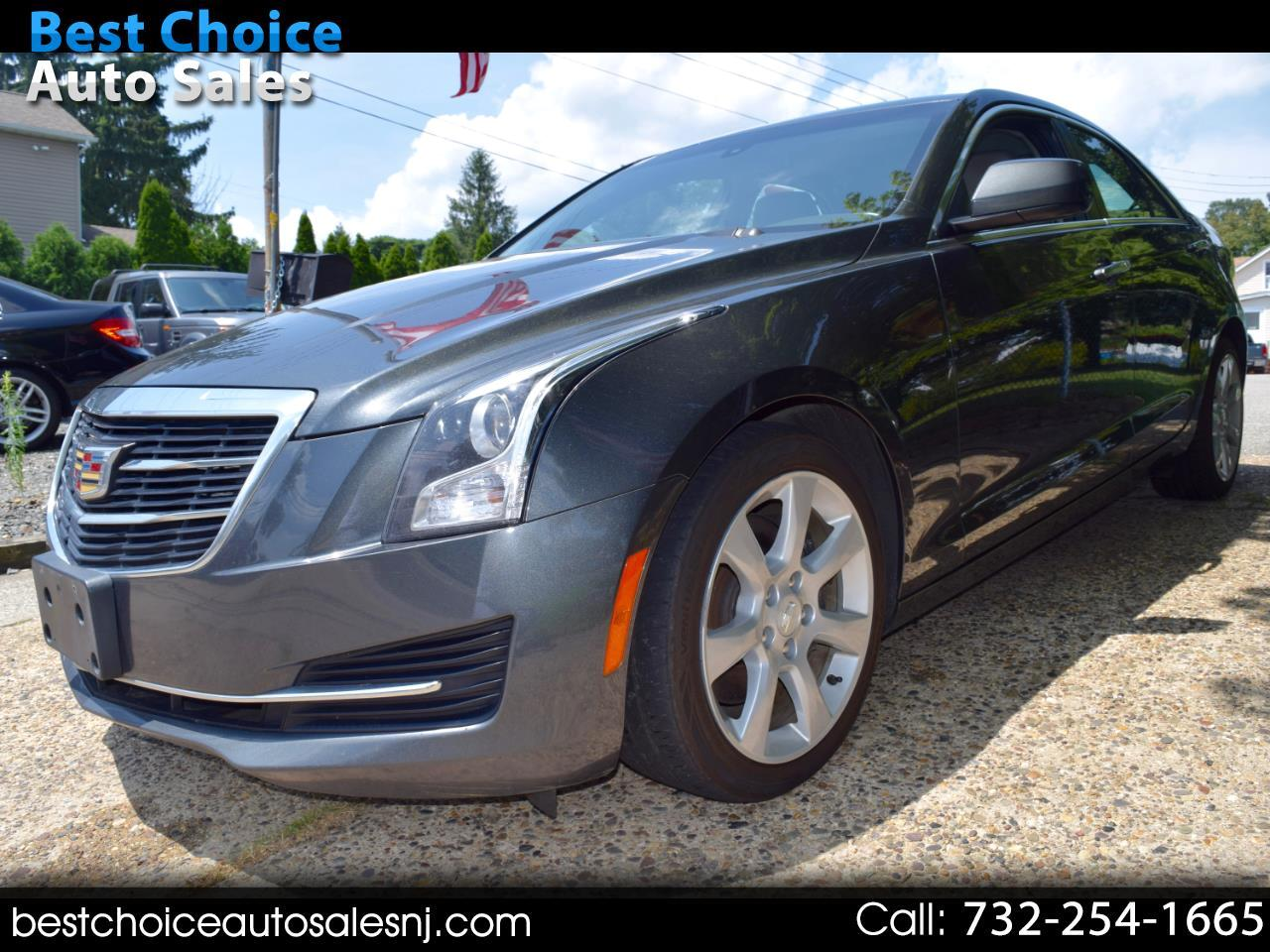 2015 Cadillac ATS Sedan 4dr Sdn 2.0L Luxury Collection AWD