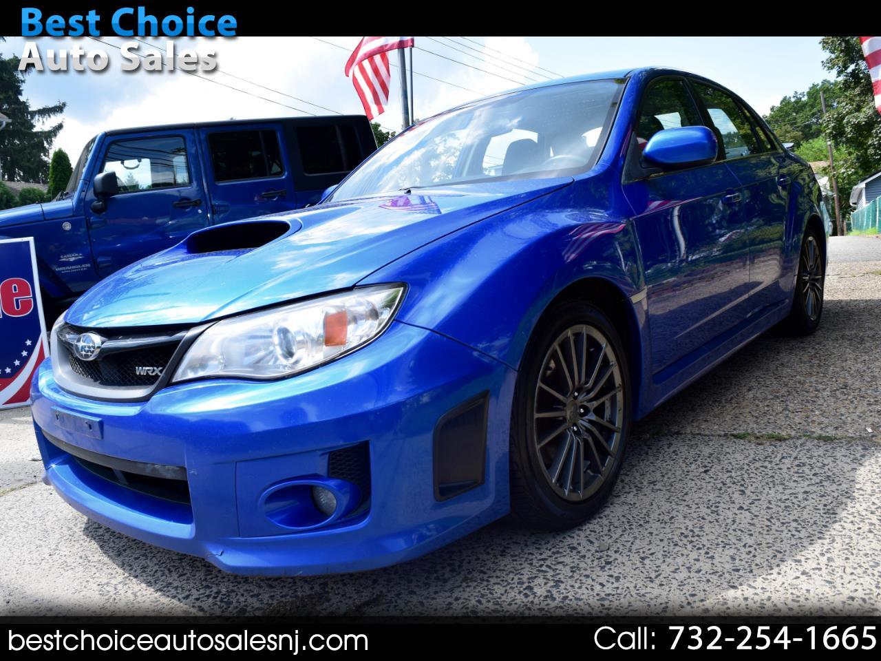 Subaru Impreza Sedan WRX 4dr Man WRX Limited 2013