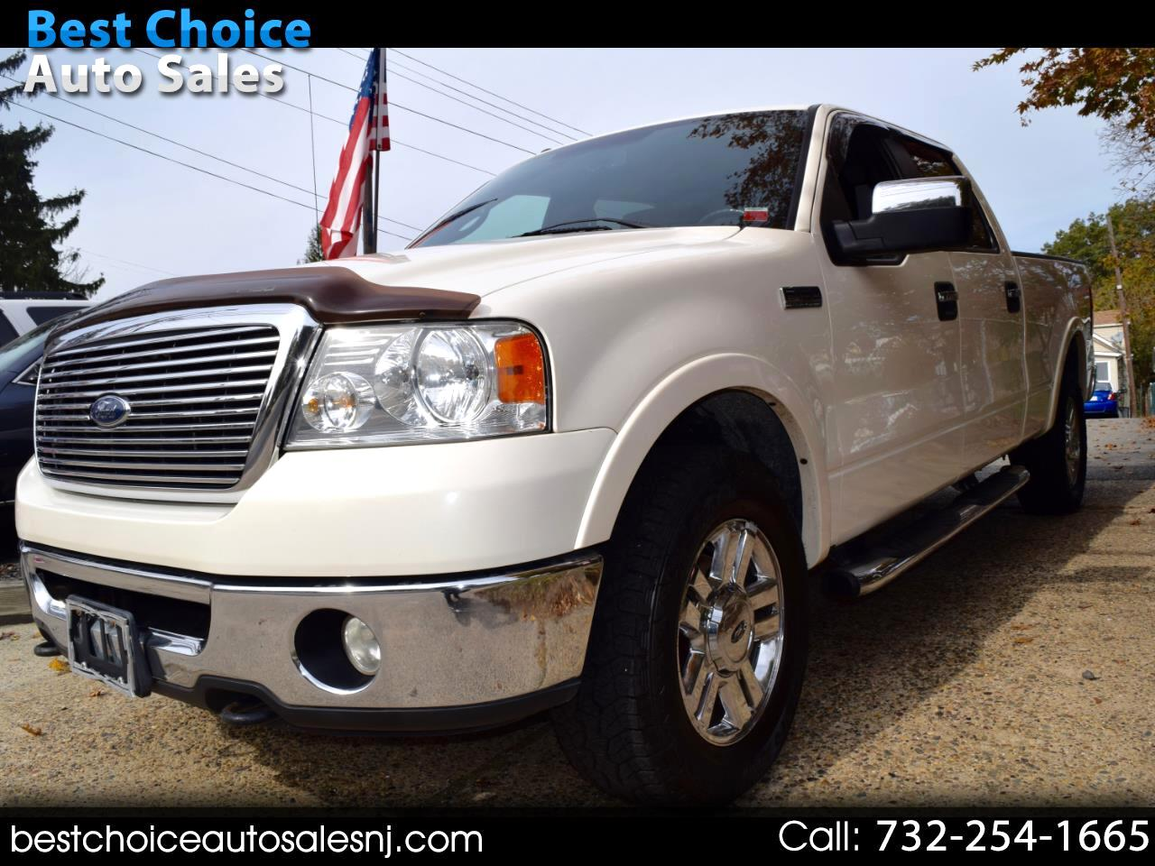 "Ford F-150 4WD SuperCrew 145"" Lariat 2008"