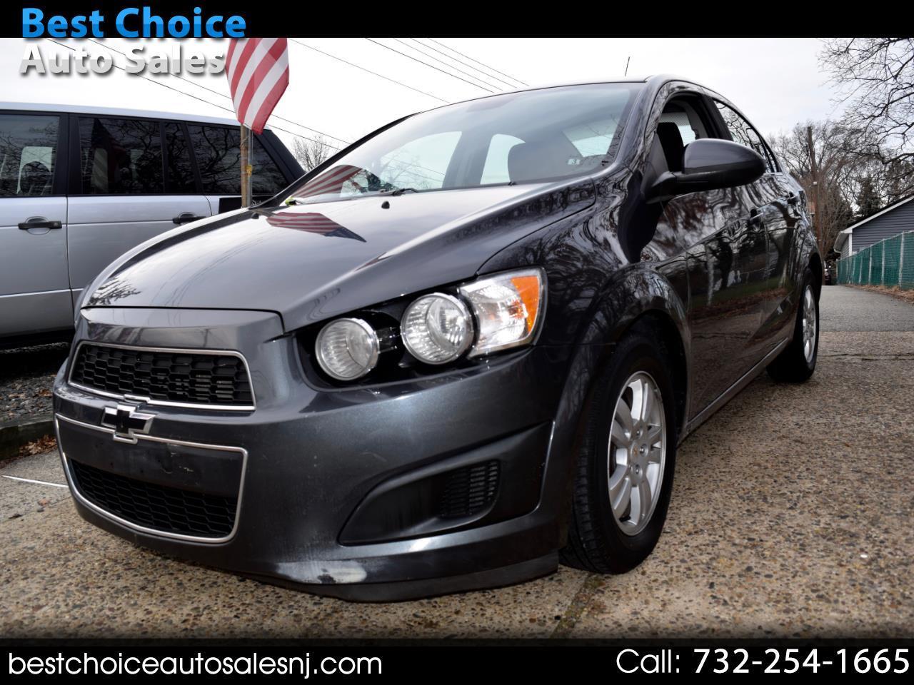Chevrolet Sonic 4dr Sdn LT 2LT 2012
