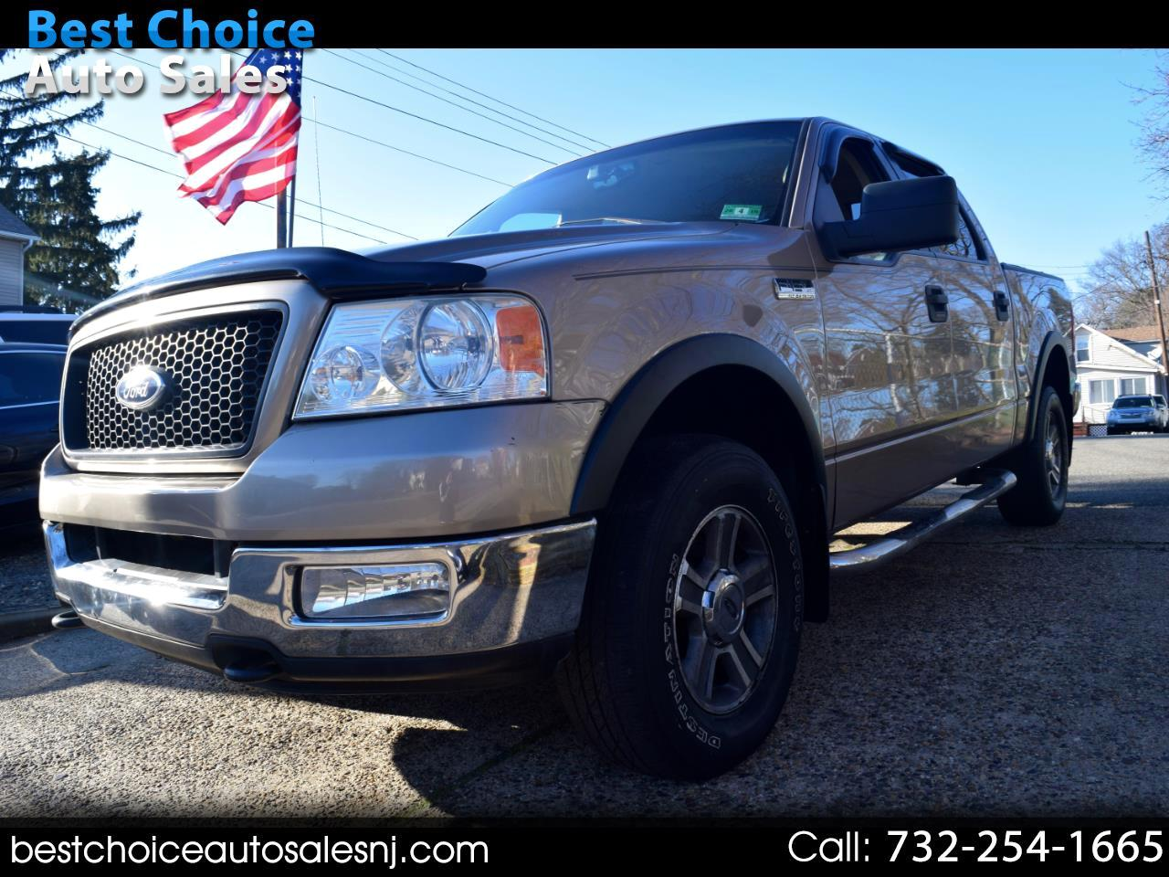 """Ford F-150 SuperCrew 139"""" King Ranch 4WD 2005"""