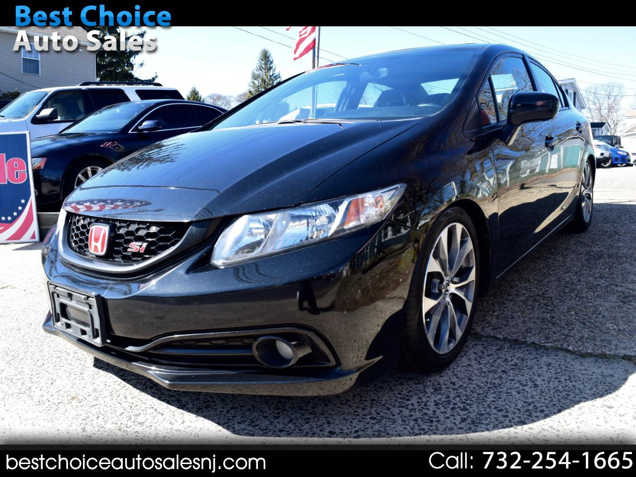 Honda Civic Sedan 4dr Man Si 2014