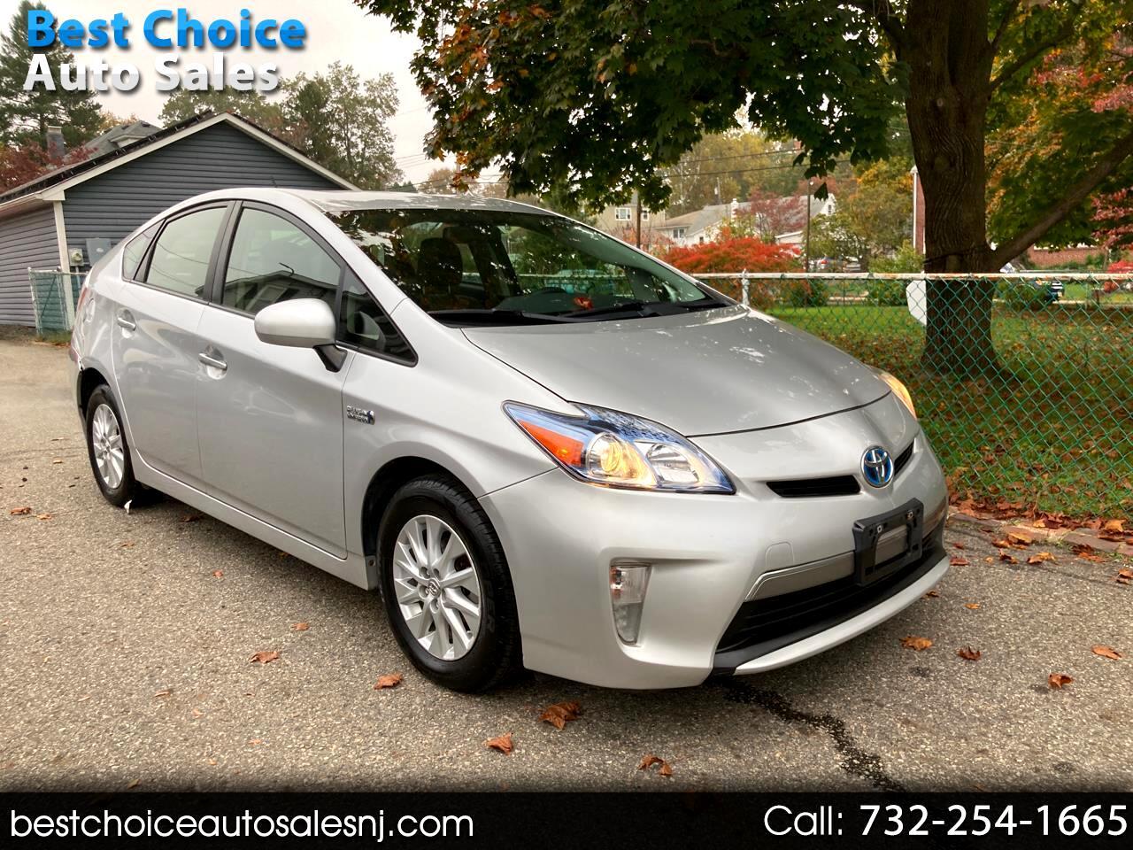 Toyota Prius Plug-In 5dr HB Advanced (Natl) 2013