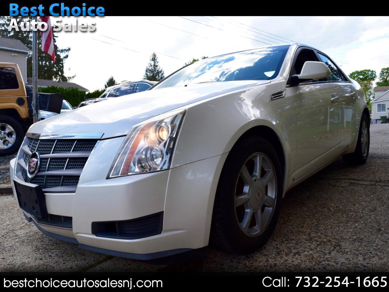 Cadillac CTS 4dr Sdn RWD w/1SA 2008