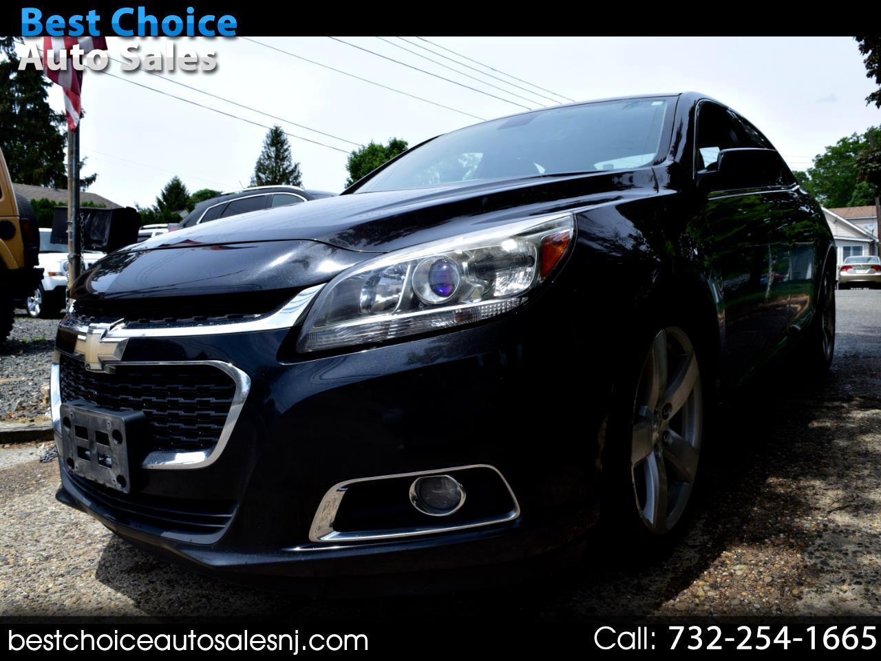 Chevrolet Malibu 4dr Sdn LTZ w/2LZ 2014
