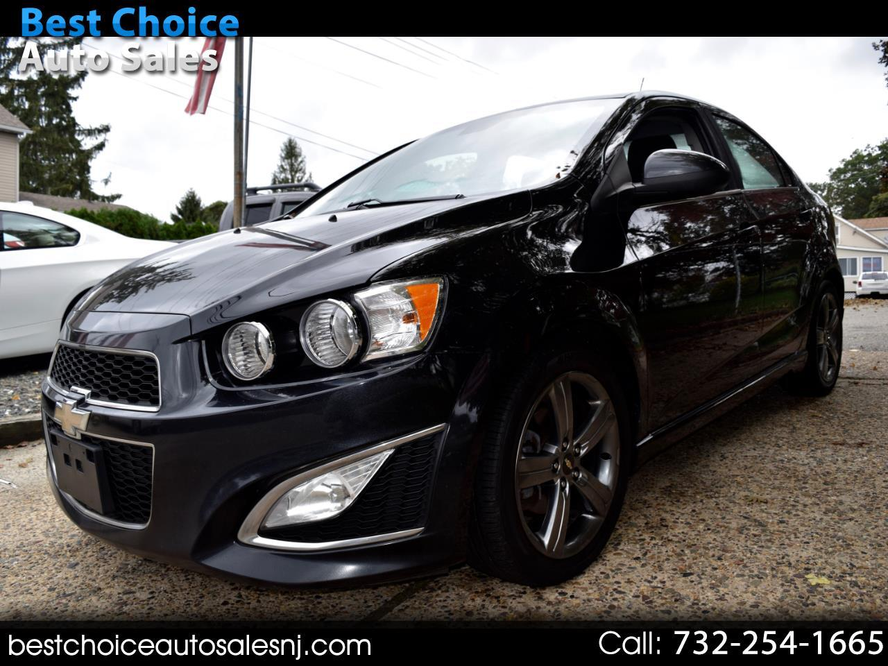 Chevrolet Sonic 4dr Sdn Auto RS 2014