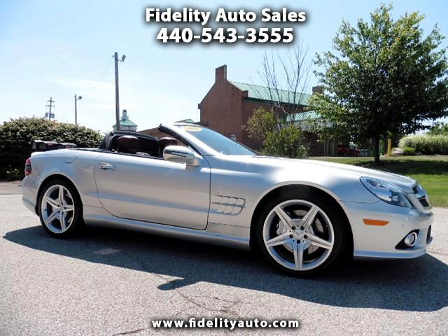 2009 Mercedes-Benz SL-Class 2dr Roadster SL 550 Silver Arrow Edition