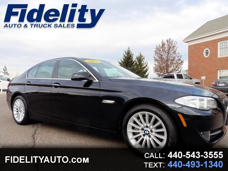 2013 BMW 5-Series 535xi